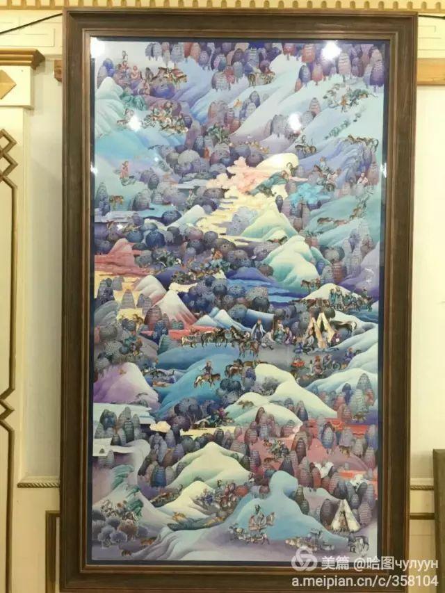 【文艺】蒙古国90后天才画家普日布苏仁作品欣赏(组图) 第26张