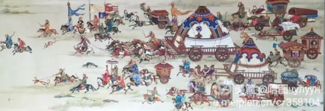 【文艺】蒙古国90后天才画家普日布苏仁作品欣赏(组图) 第28张