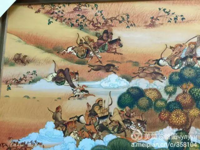 【文艺】蒙古国90后天才画家普日布苏仁作品欣赏(组图) 第35张