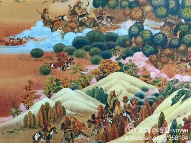 【文艺】蒙古国90后天才画家普日布苏仁作品欣赏(组图) 第33张