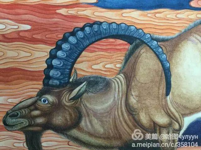 【文艺】蒙古国90后天才画家普日布苏仁作品欣赏(组图) 第38张