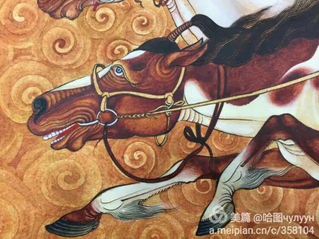 【文艺】蒙古国90后天才画家普日布苏仁作品欣赏(组图) 第41张