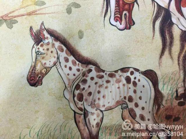 【文艺】蒙古国90后天才画家普日布苏仁作品欣赏(组图) 第42张