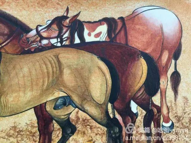 【文艺】蒙古国90后天才画家普日布苏仁作品欣赏(组图) 第44张