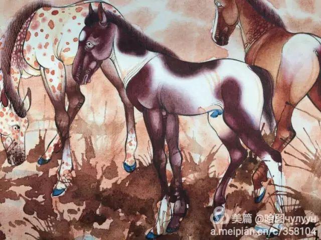 【文艺】蒙古国90后天才画家普日布苏仁作品欣赏(组图) 第46张