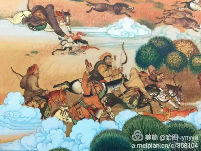 【文艺】蒙古国90后天才画家普日布苏仁作品欣赏(组图) 第48张