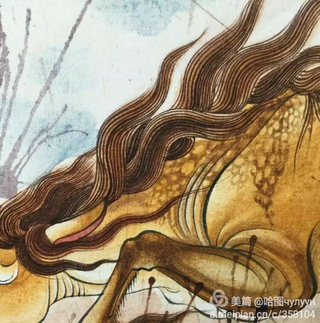 【文艺】蒙古国90后天才画家普日布苏仁作品欣赏(组图) 第52张