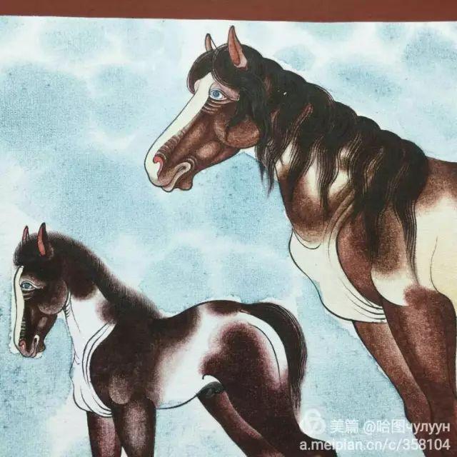 【文艺】蒙古国90后天才画家普日布苏仁作品欣赏(组图) 第56张
