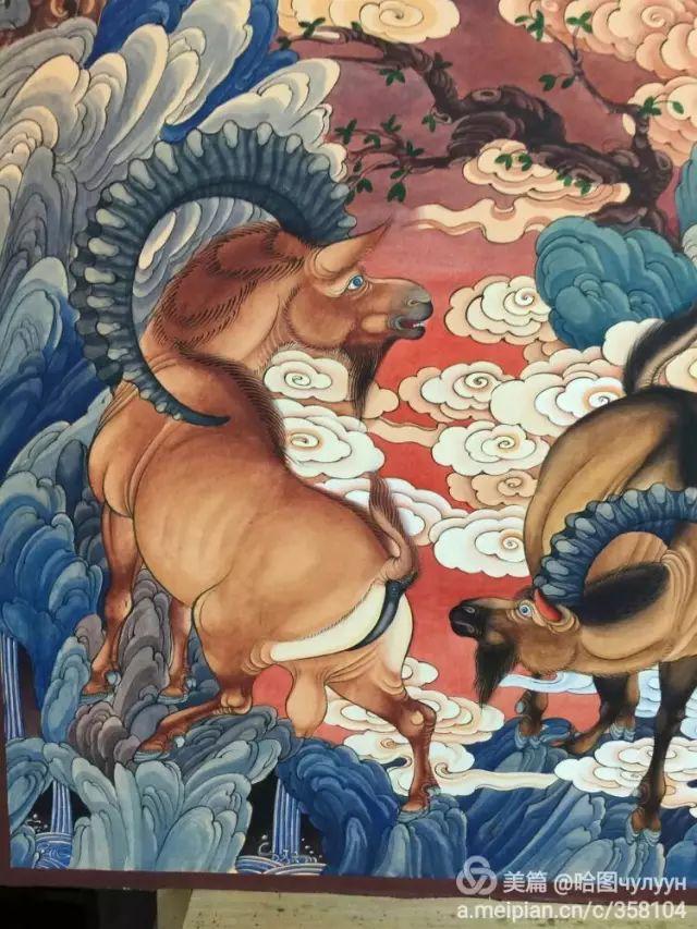 【文艺】蒙古国90后天才画家普日布苏仁作品欣赏(组图) 第60张