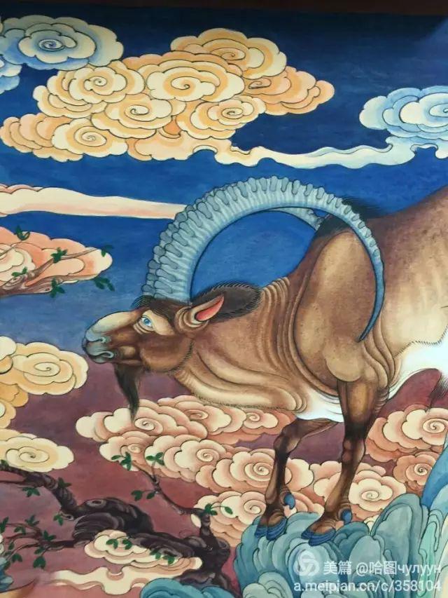 【文艺】蒙古国90后天才画家普日布苏仁作品欣赏(组图) 第62张