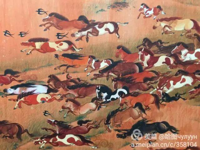 【文艺】蒙古国90后天才画家普日布苏仁作品欣赏(组图) 第67张