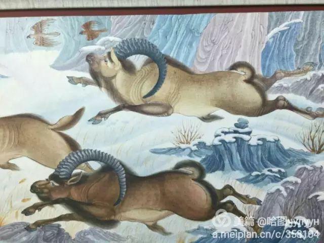 【文艺】蒙古国90后天才画家普日布苏仁作品欣赏(组图) 第70张