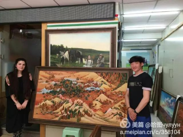 【文艺】蒙古国90后天才画家普日布苏仁作品欣赏(组图) 第76张