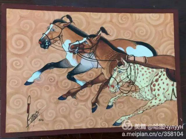 【文艺】蒙古国90后天才画家普日布苏仁作品欣赏(组图) 第75张