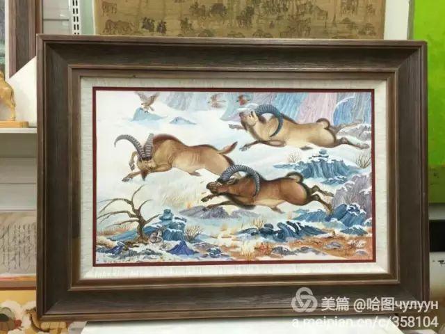 【文艺】蒙古国90后天才画家普日布苏仁作品欣赏(组图) 第72张