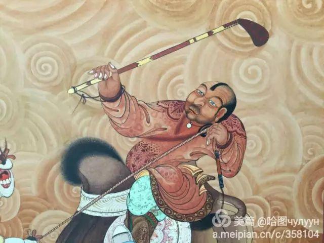 【文艺】蒙古国90后天才画家普日布苏仁作品欣赏(组图) 第80张