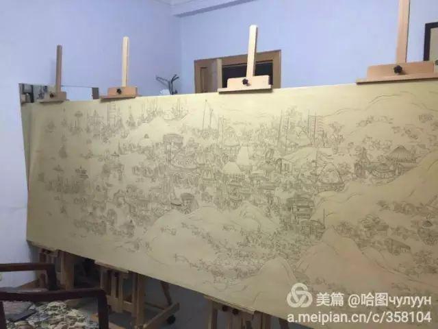 【文艺】蒙古国90后天才画家普日布苏仁作品欣赏(组图) 第87张