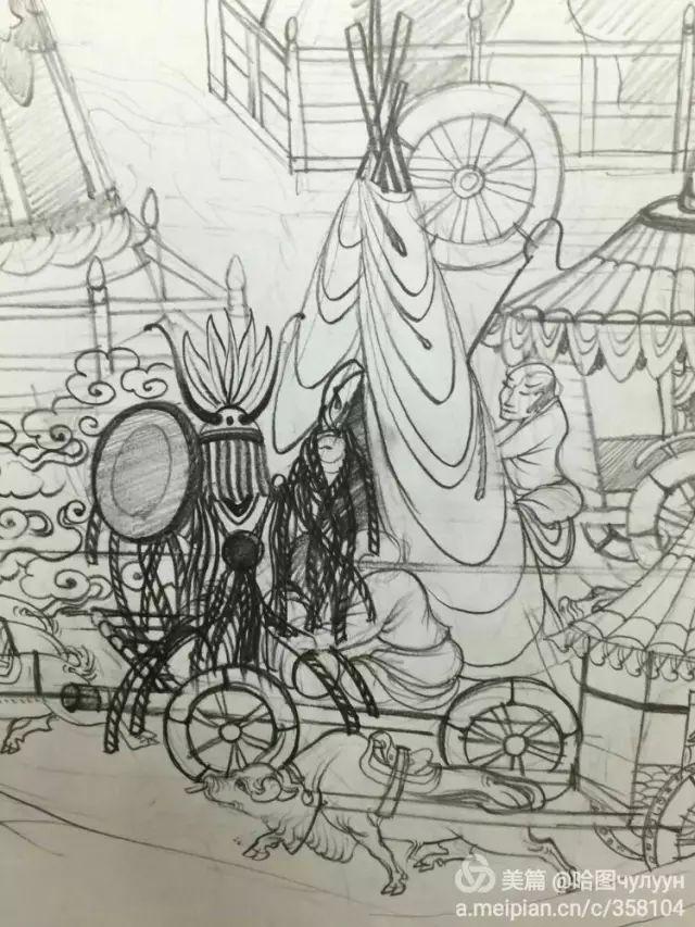 【文艺】蒙古国90后天才画家普日布苏仁作品欣赏(组图) 第82张