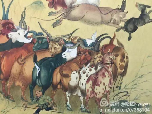 【文艺】蒙古国90后天才画家普日布苏仁作品欣赏(组图) 第92张