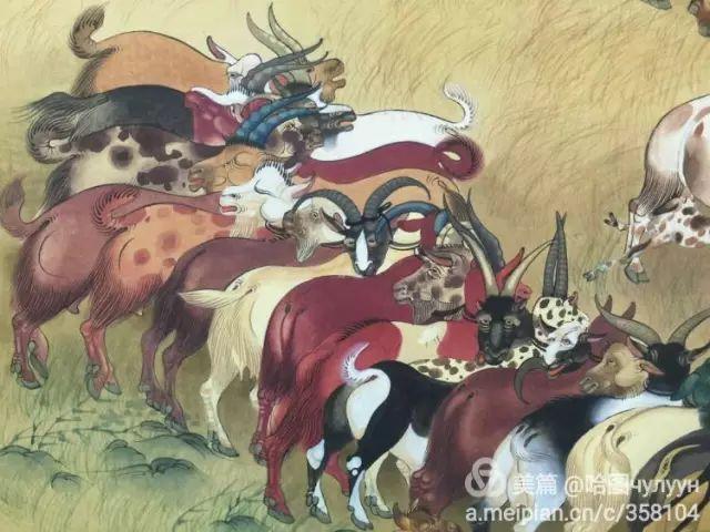 【文艺】蒙古国90后天才画家普日布苏仁作品欣赏(组图) 第93张
