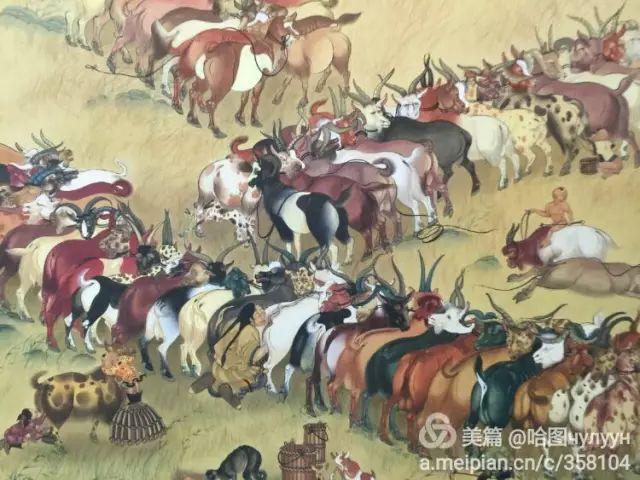【文艺】蒙古国90后天才画家普日布苏仁作品欣赏(组图) 第94张