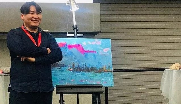 蒙古国画家 Bolor Chinbayar作品欣赏 第1张 蒙古国画家 Bolor Chinbayar作品欣赏 蒙古画廊