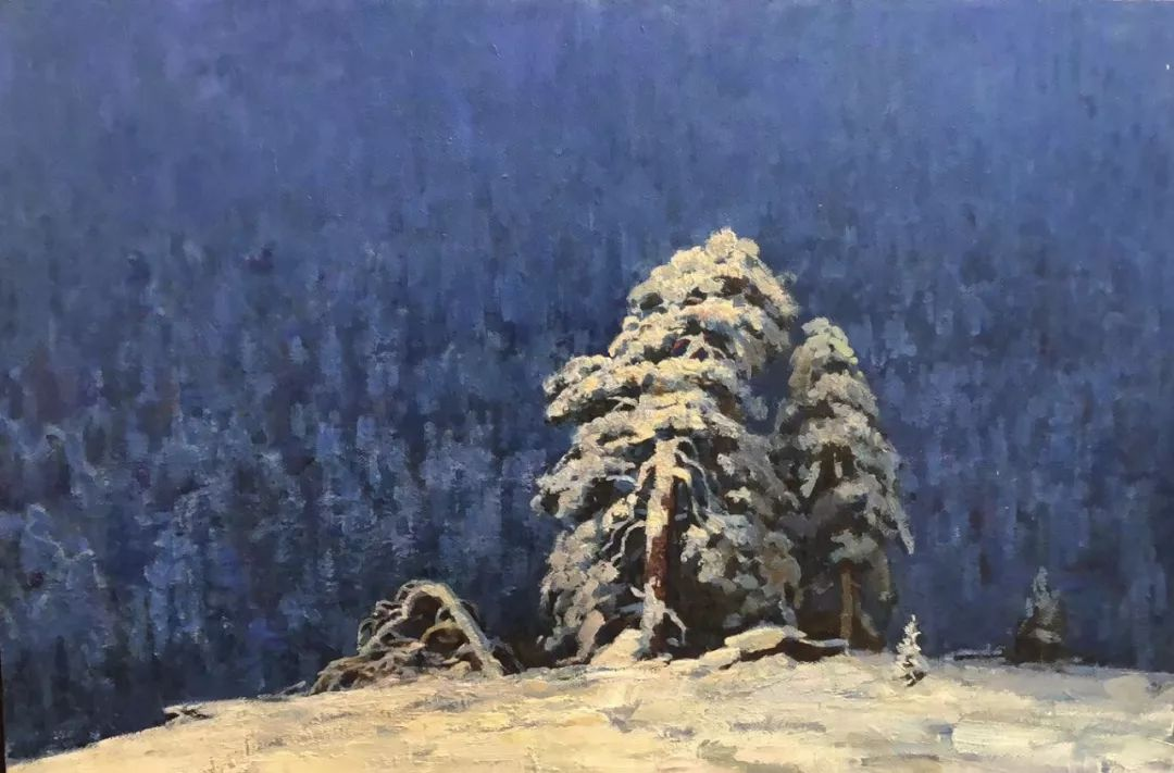 蒙古国画家 Bolor Chinbayar作品欣赏 第3张 蒙古国画家 Bolor Chinbayar作品欣赏 蒙古画廊