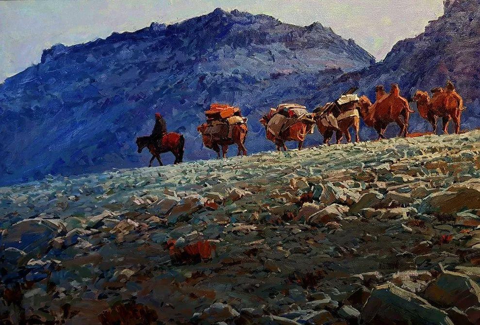 蒙古国画家 Bolor Chinbayar作品欣赏 第6张 蒙古国画家 Bolor Chinbayar作品欣赏 蒙古画廊