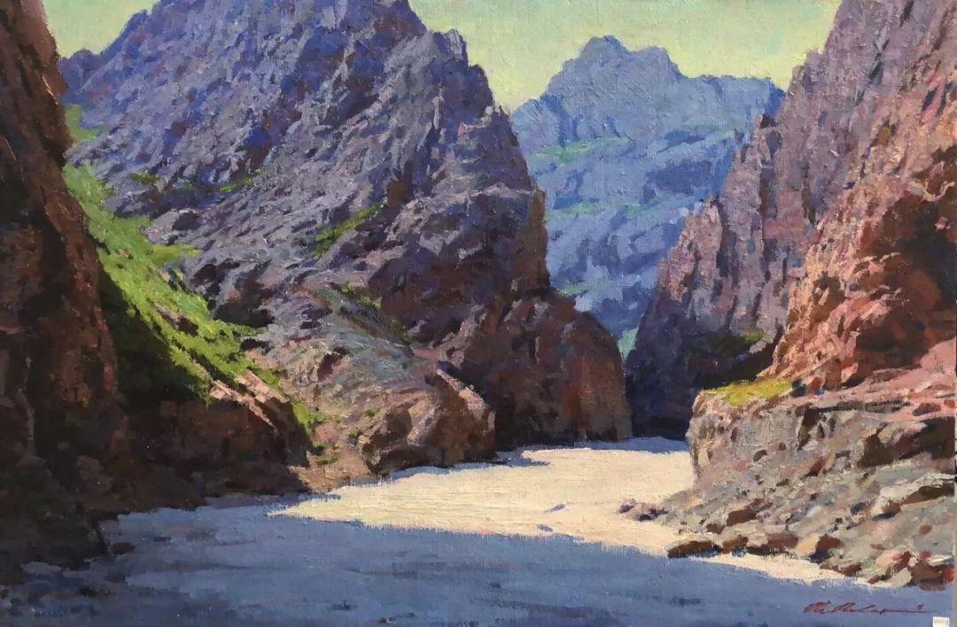 蒙古国画家 Bolor Chinbayar作品欣赏 第8张 蒙古国画家 Bolor Chinbayar作品欣赏 蒙古画廊