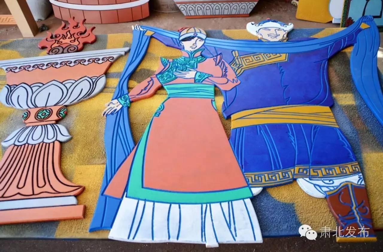 温格金  让雪山蒙古族手工艺术品大放光芒 第10张
