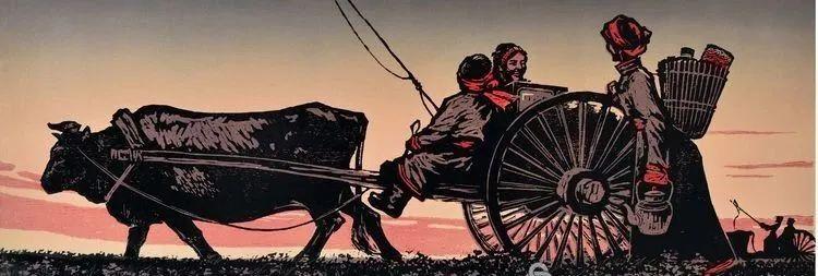 唤起浓郁草原风情的——科尔沁版画! 第4张