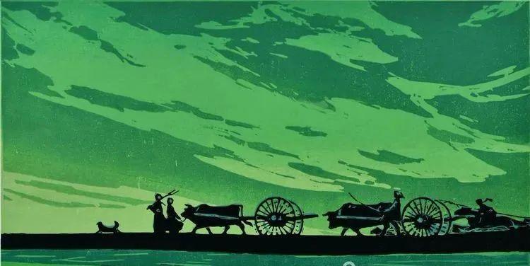 唤起浓郁草原风情的——科尔沁版画! 第5张