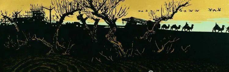唤起浓郁草原风情的——科尔沁版画! 第10张