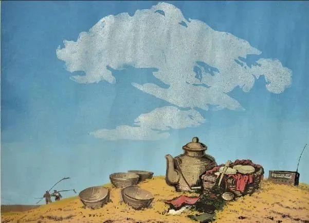 唤起浓郁草原风情的——科尔沁版画! 第17张