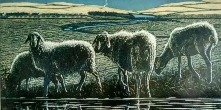 唤起浓郁草原风情的——科尔沁版画! 第22张