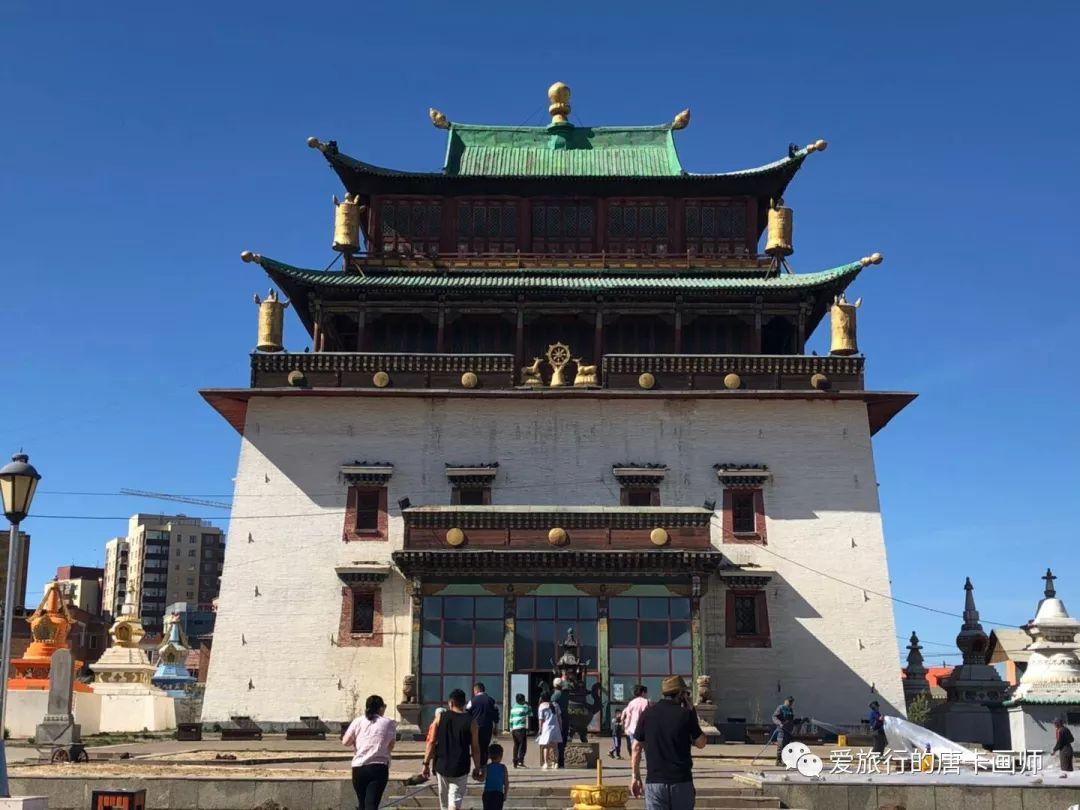 蒙古国唐卡艺术绘画欣赏 第1张