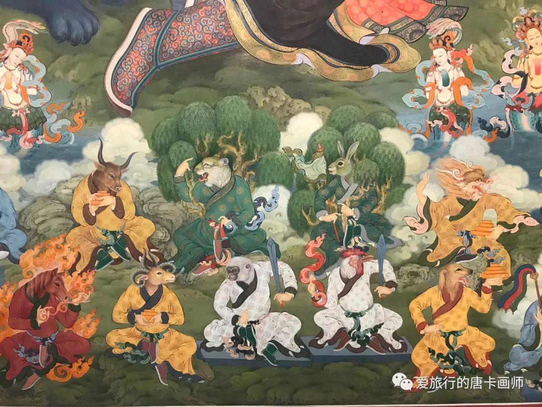 蒙古国唐卡艺术绘画欣赏 第8张