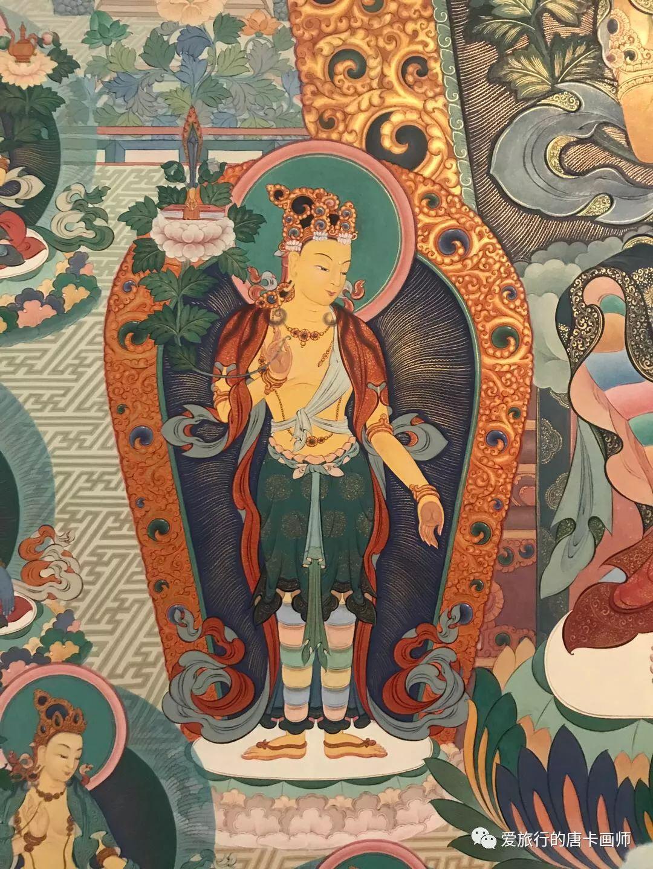 蒙古国唐卡艺术绘画欣赏 第11张