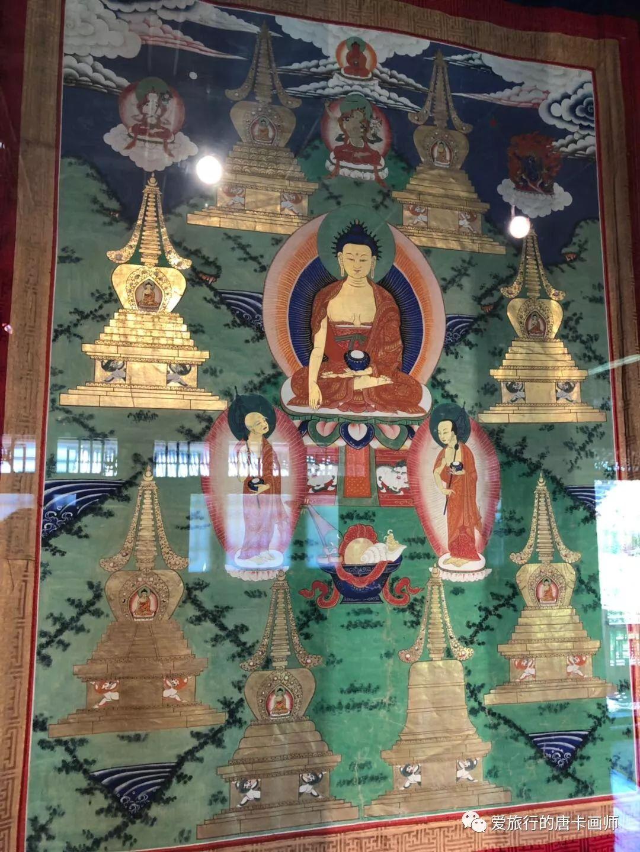 蒙古国唐卡艺术绘画欣赏 第15张