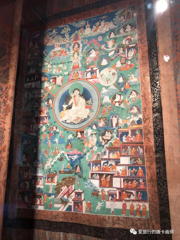 蒙古国唐卡艺术绘画欣赏 第18张