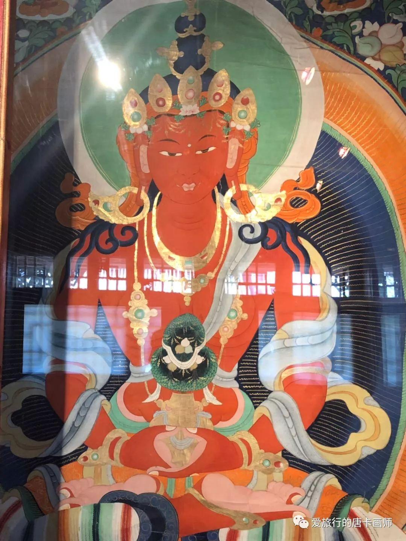 蒙古国唐卡艺术绘画欣赏 第17张
