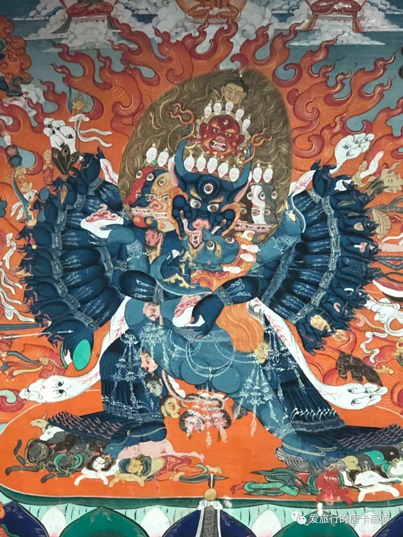 蒙古国唐卡艺术绘画欣赏 第21张