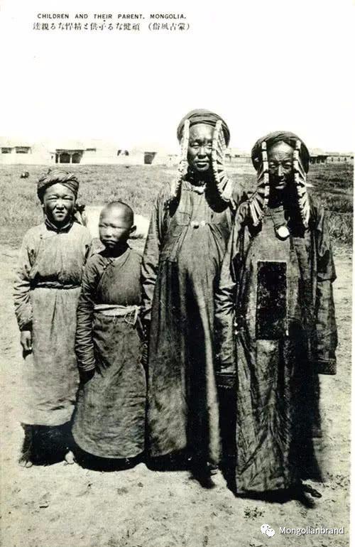 老照片:见证百年前蒙古女性(组图) 第42张 老照片:见证百年前蒙古女性(组图) 蒙古文化