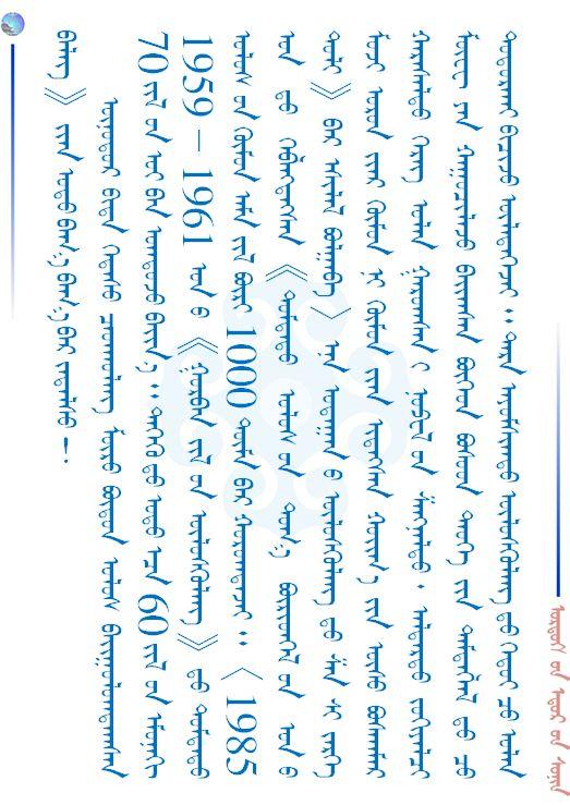 【儿童节】给广大小朋友们的一封信(蒙古文) 第14张