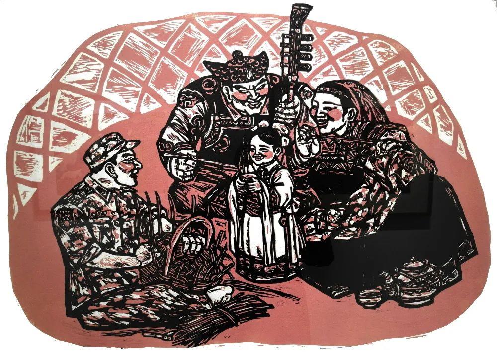 内蒙古通辽:刀笔刻画美好生活 助力脱贫攻坚 第3张