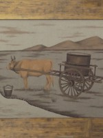 沙画家阿拉塔毕力格:一缕细沙演绎草原游牧生活 第7张 沙画家阿拉塔毕力格:一缕细沙演绎草原游牧生活 蒙古画廊