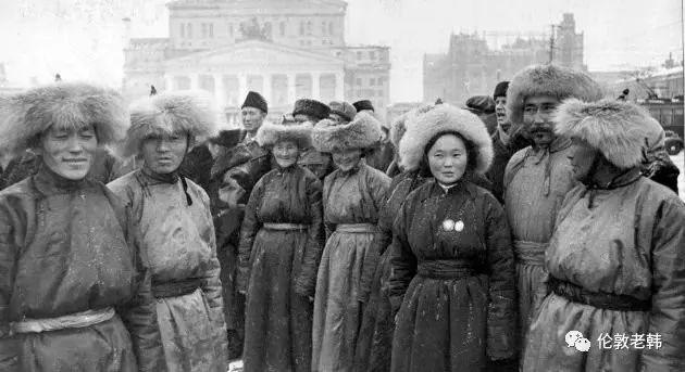 卡尔梅克共和国首都街头 第4张 卡尔梅克共和国首都街头 蒙古文化