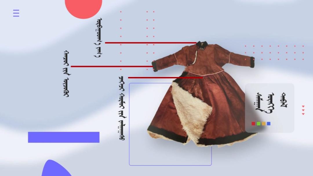 话说蒙古族民俗:布里亚特服饰 第14张