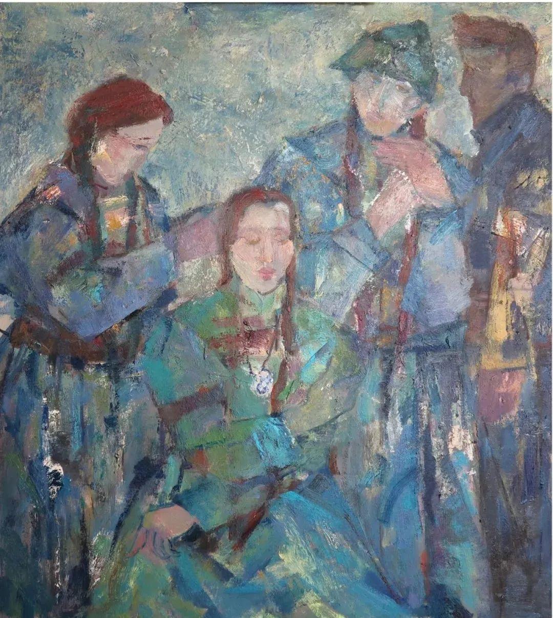 内蒙古当代美术家系列--乌吉斯古楞 第13张