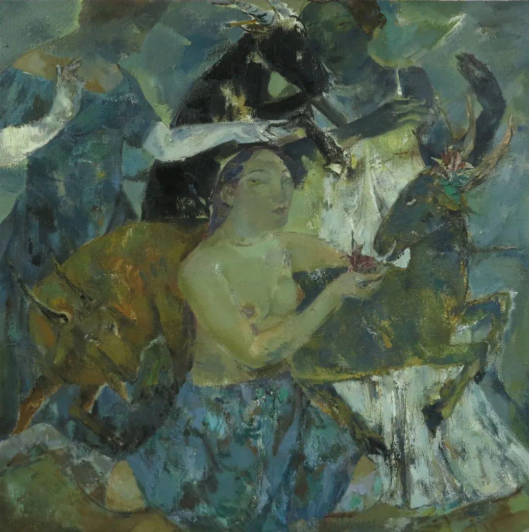 内蒙古当代美术家系列--乌吉斯古楞 第14张